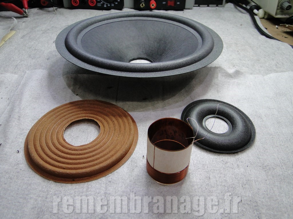 kef sp1256 b200 recone kit
